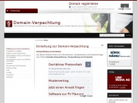 domain-verpachtung.ch