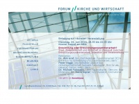 Forum-kirchewirtschaft.ch