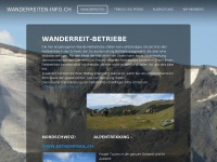 Wanderreiten-info.ch