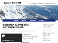 gemeinde-riederalp.ch