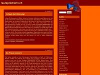 lautsprecherin.ch
