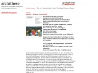 archithese.ch