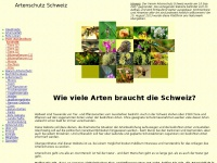 artenschutz.ch