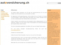 autoversicherung.ch