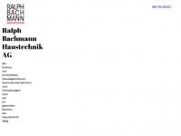 bachmannhaustechnik.ch