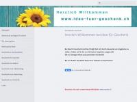 idee-fuer-geschenk.ch