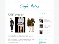 stylenotes.ch