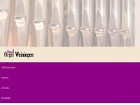orgel-weiningen.ch
