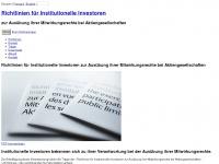 swissinvestorscode.ch