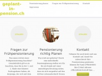 Geplant-in-pension.ch